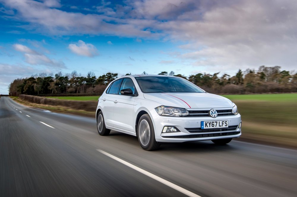 Volkswagen Polo   The Volkswagen Polo appeals to new drivers on so many levels. Sharp looks, big-car features, and a quality cabin combine to make a really appealing package.