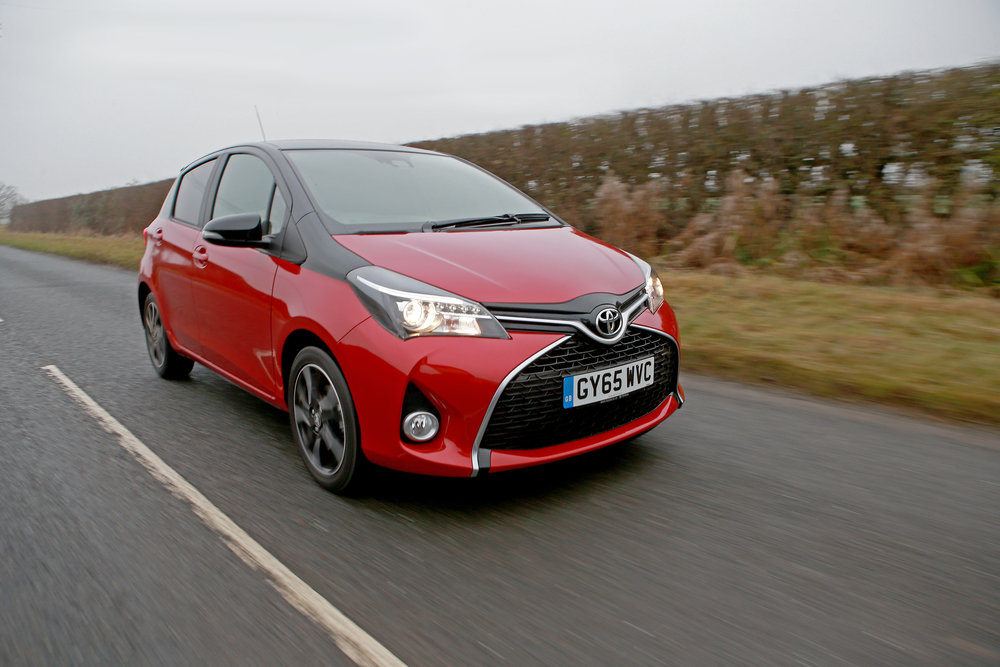 Toyota Yaris Hybrid   Clever petrol-electric hybrid technology cuts carbon emissions and improves fuel economy. The Toyota Yaris Hybrid is practical and safe as well as green