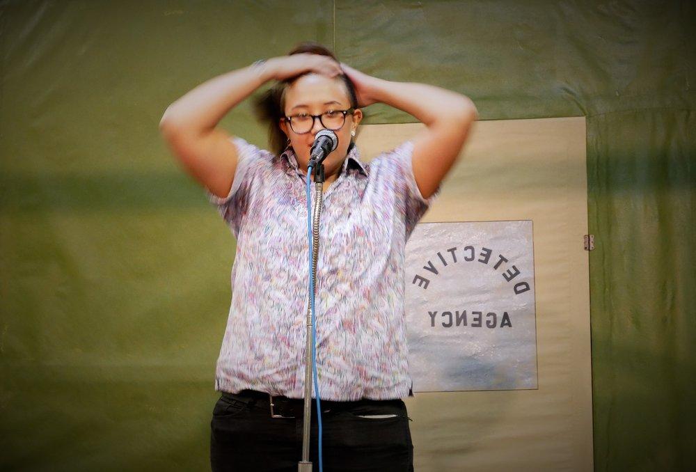 Photo by poet George Hammon at the San Bernardino Grand Stand 9/28/17