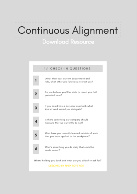 WTA Continuous Alignment Questions