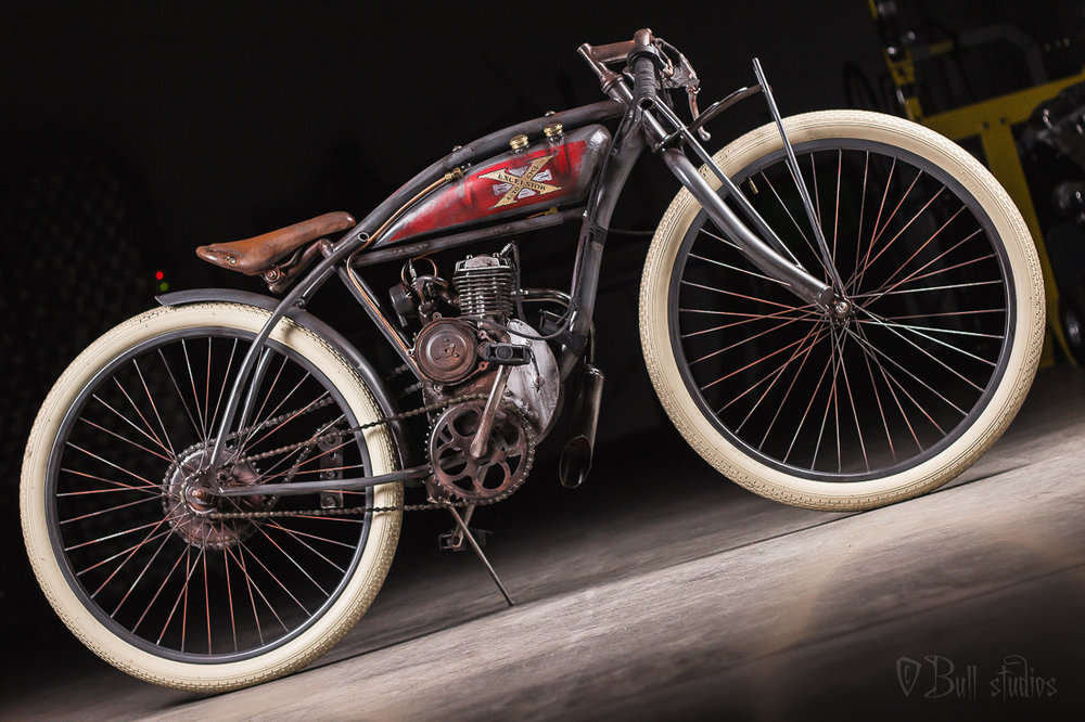 Excelsior Auto Cycle Board Track Racer Tribute Bike