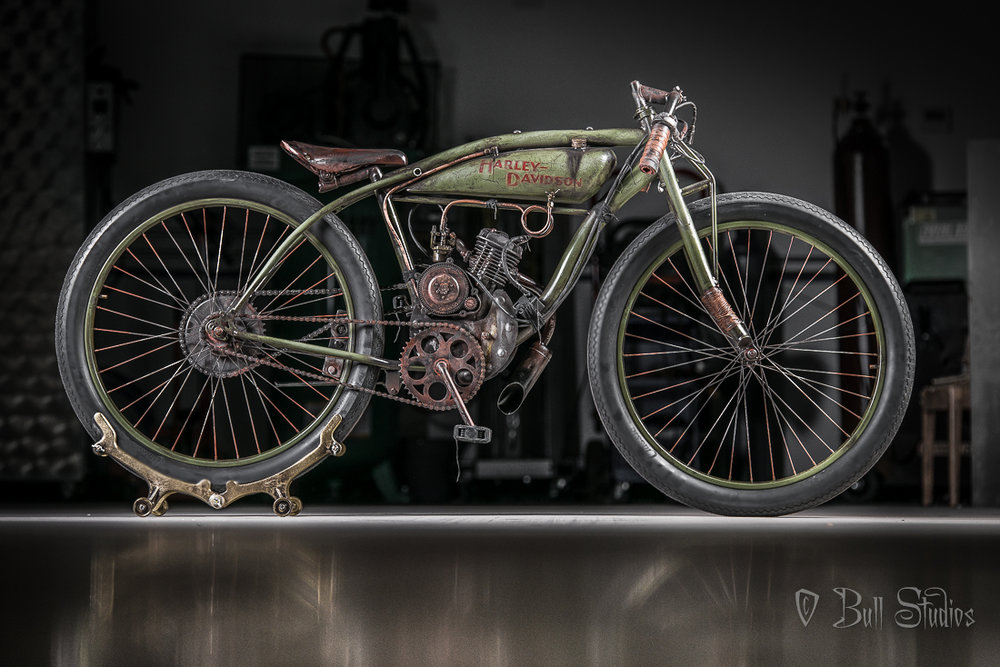Harley Davidson Board Track Racer Tribute Bike