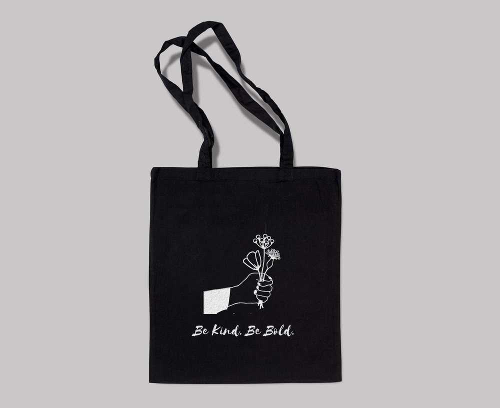 0cbe3c519 Be Kind. Be Bold' Original - Tote Bag — Be Kind. Be Bold.
