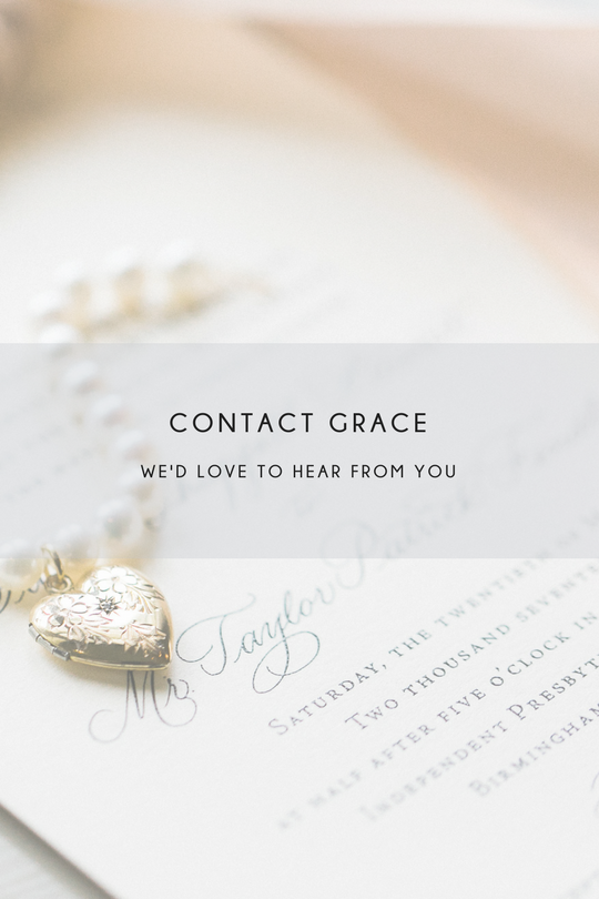contact grace calligraphy