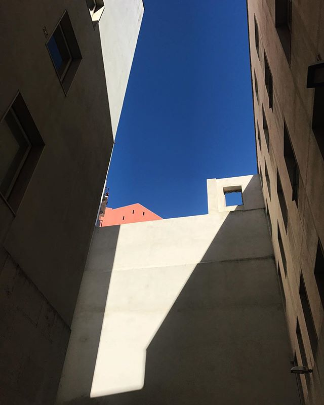 Lisbon, a city with prolific shadows, and modest architecture to grab them.