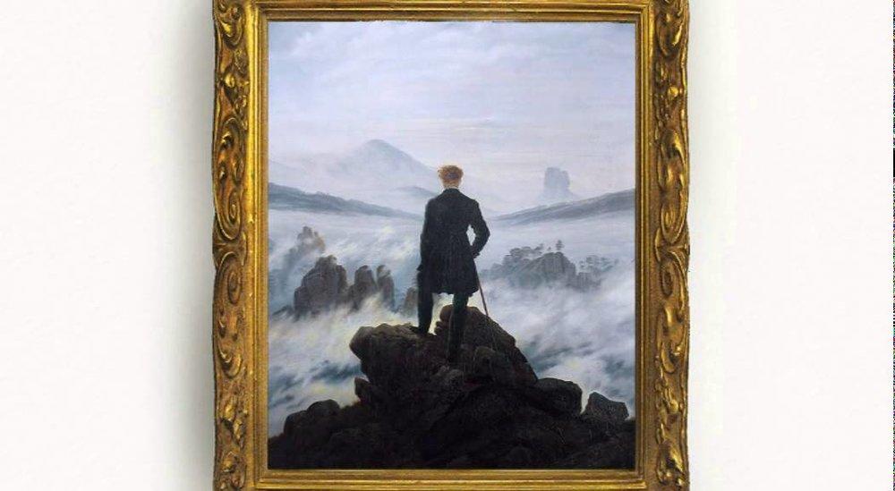 Der Wanderer über dem Nebelmeer (