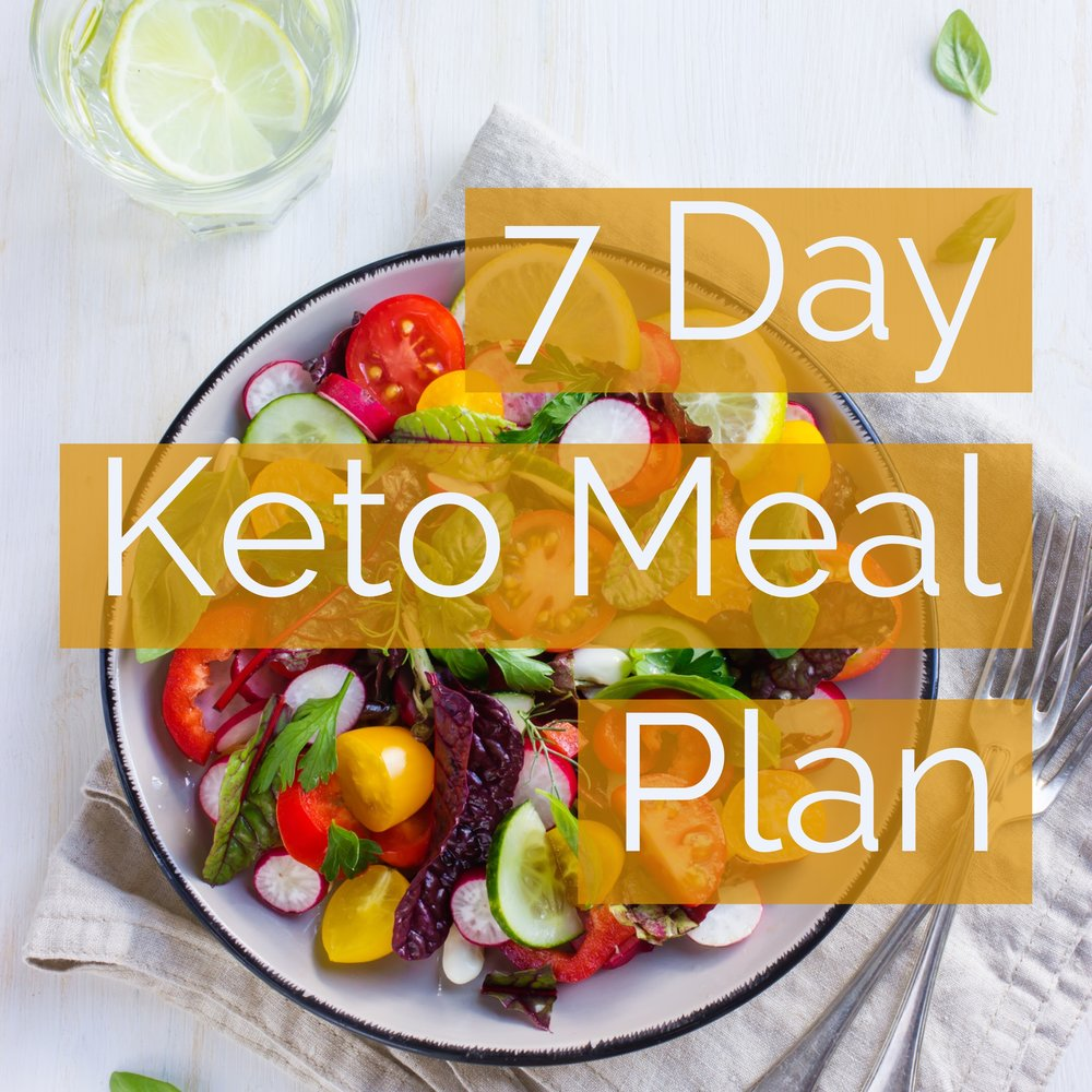 7 Day Keto Meal Plan