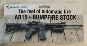 The Bump Fire Systems website was down at the time of writing this article due to traffic.