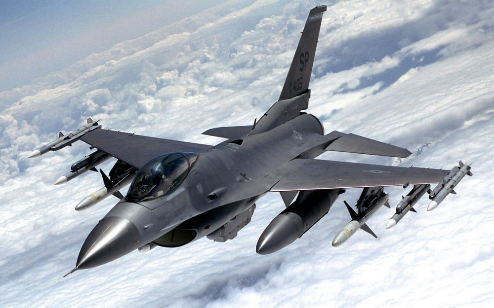The General Dynamics F-16 Fighting Falcon