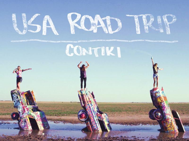 Contiki:  USA Road Trip   Creative Strategy, Social Media, Media Performance