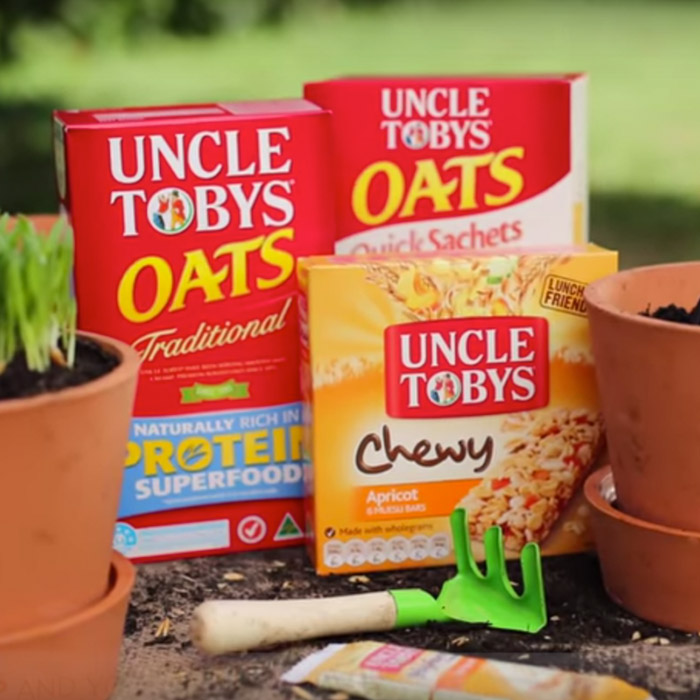 Uncle Toby's:  Home Grown Oats   Social Impact, Creative Strategy, Social Media, Media Performance