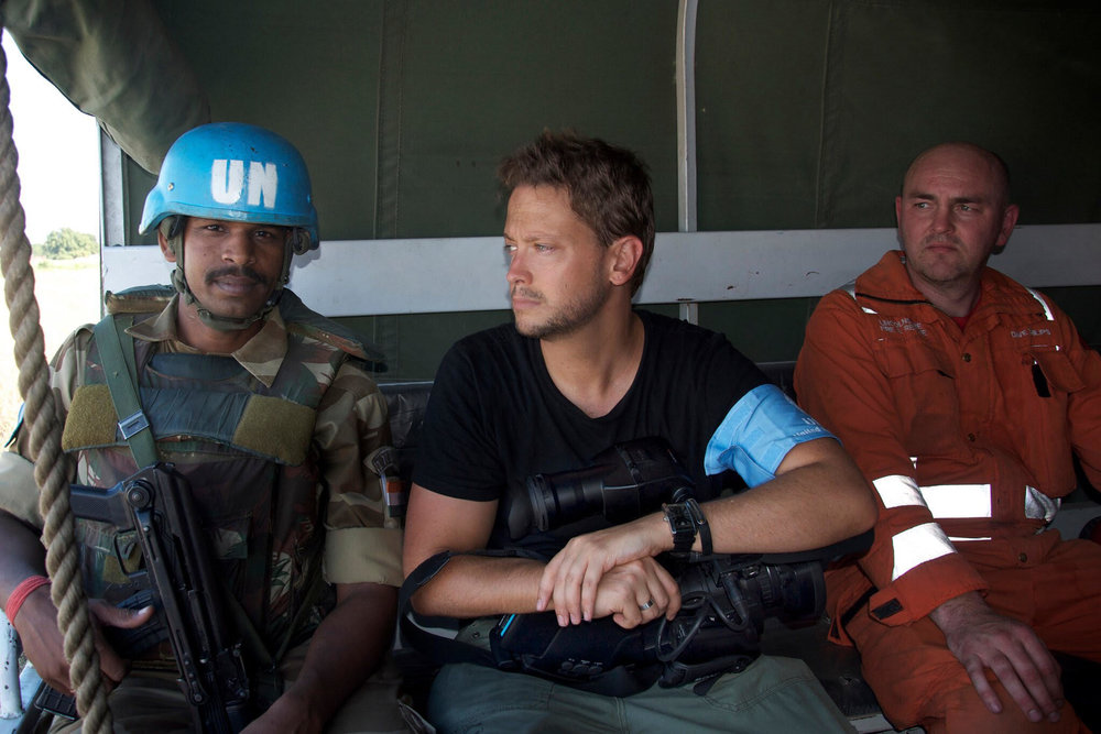 David Ohana in Haiti. The United Nations and UNICEF were some of the first on the ground following the catastrophic Haiti earthquakes to provide live saving aid, coordinate search and rescue operations, and lead the response of the international community.