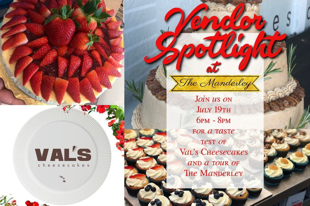 #Yum: - Some great cheesecake and a tour of a great venue, sounds #yummy to ya!?