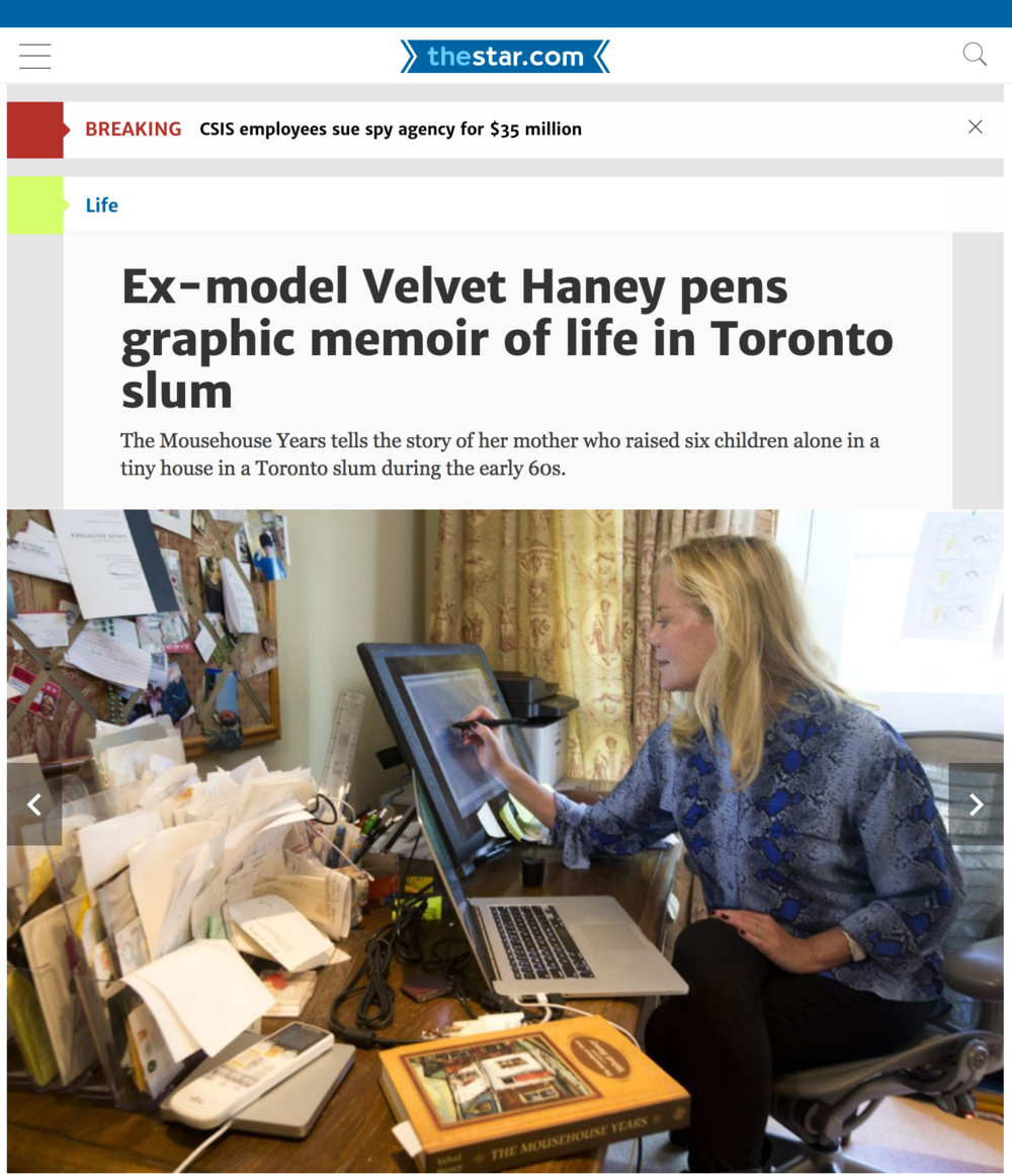 Velvet Haney featured in The Star