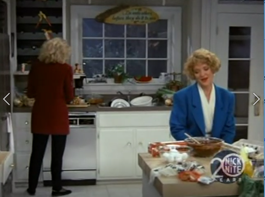Murphy's kitchen in the classic series.