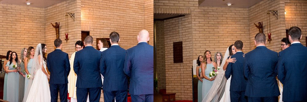First Kiss St. Andrew's Episcopal Church