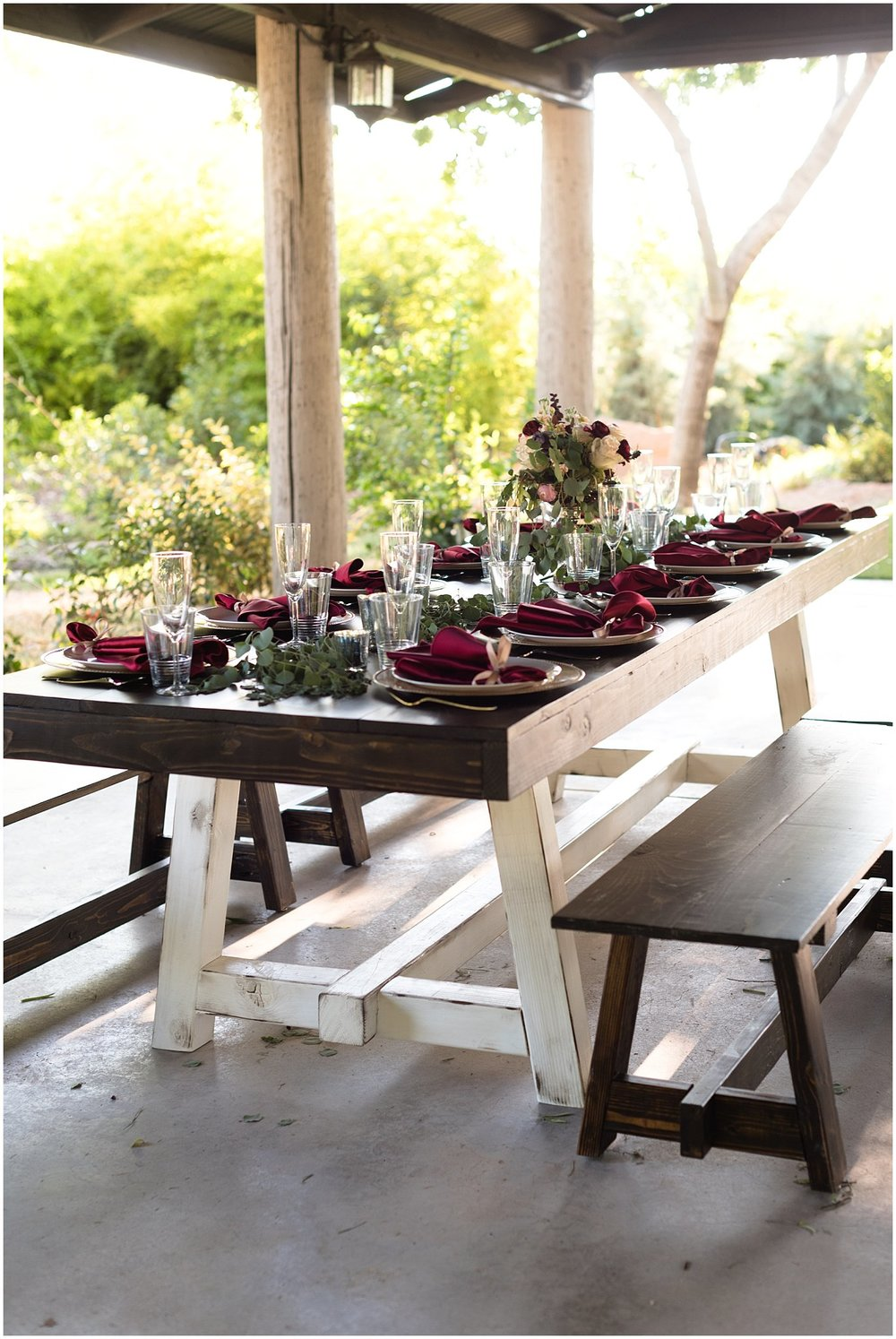 Elegant Farm Tables
