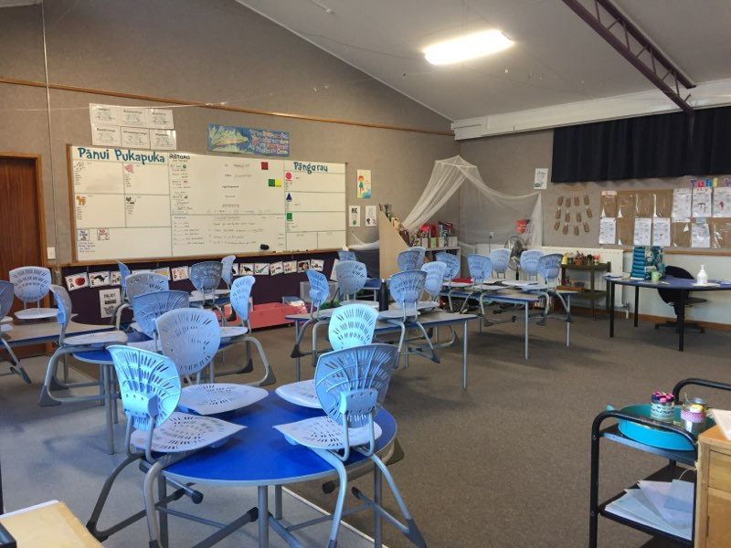 A New Zealand School Classroom for Awa Wahine