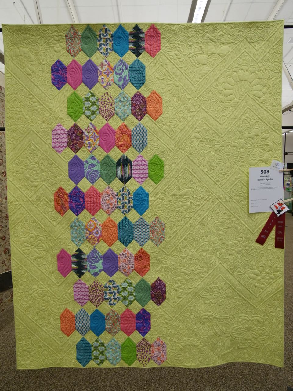 Modern Brilliance - 2nd Place, Modern Quilts