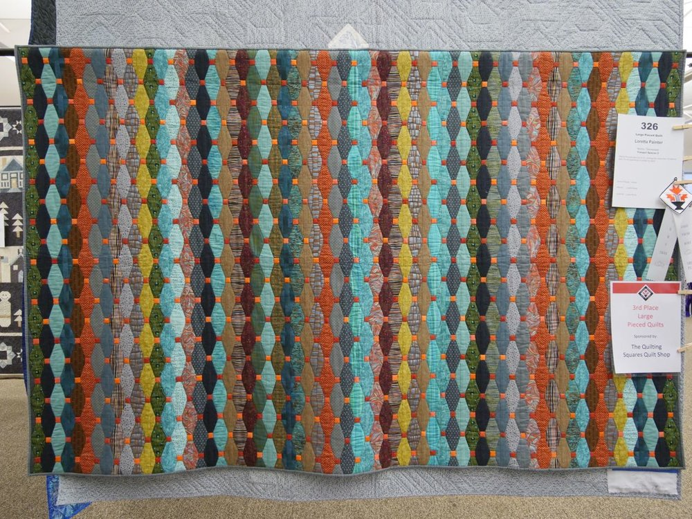 Tranquil Spaces 2 - 3rd Place, Large Pieced Quilts