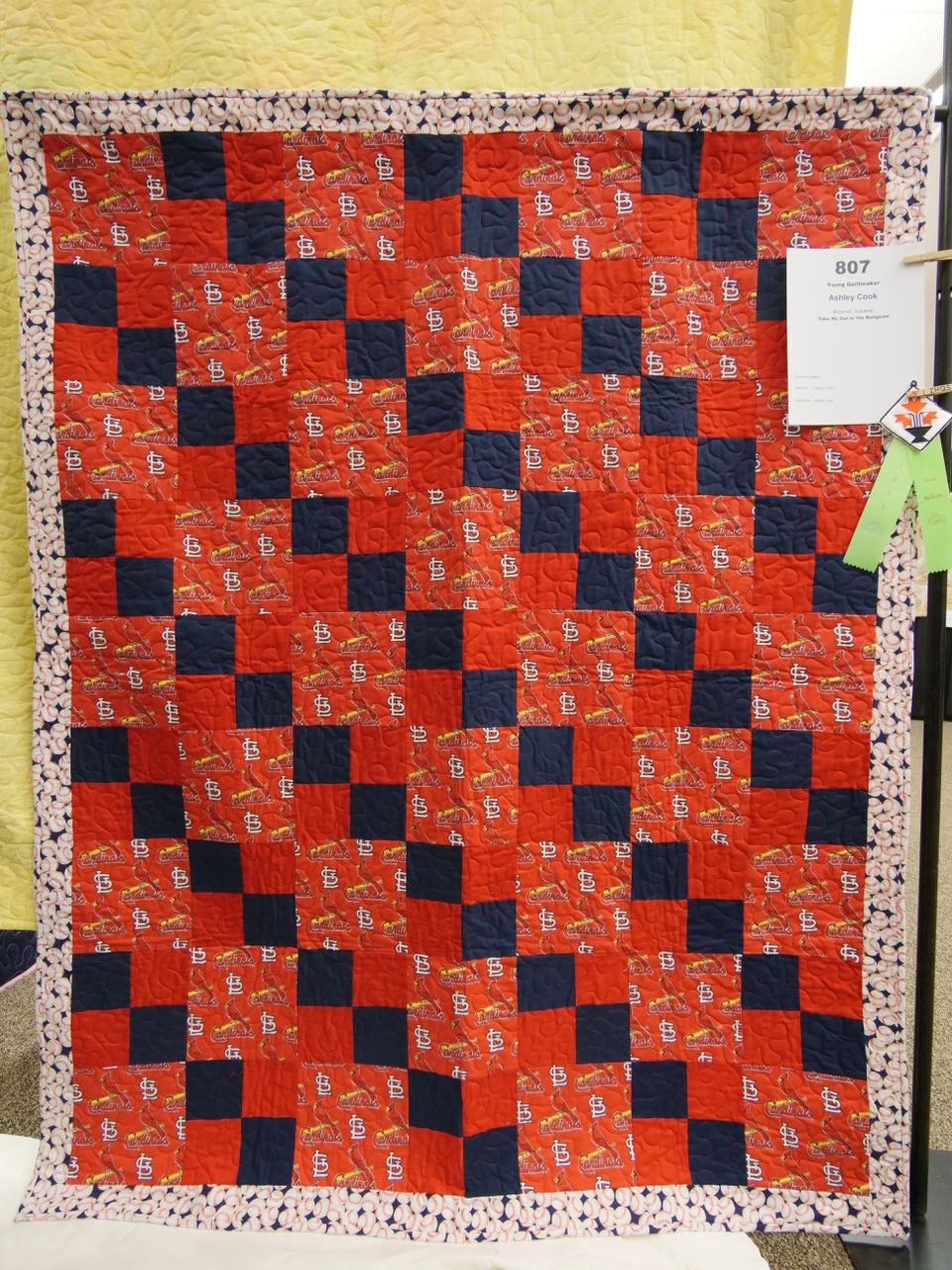 Take Me Out to the Ballgame - Young Quiltmaker