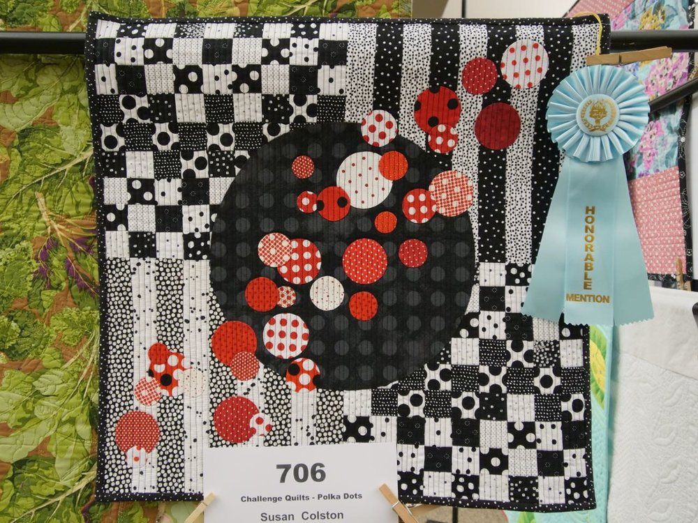 Checks! Stripes! Polka Dots! Oh My! - Honorable Mention, Polka Dot Challenge