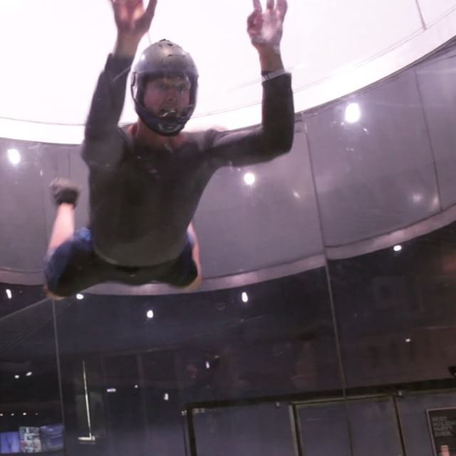 Ready for any adventure. In any direction. Even in a wind tunnel 🌪  #skydive #adventure