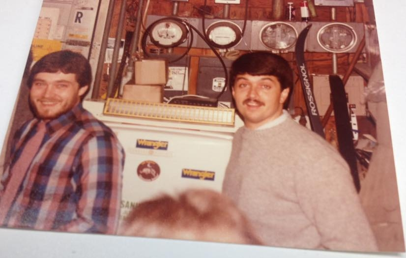 Rob and Ric 1970s