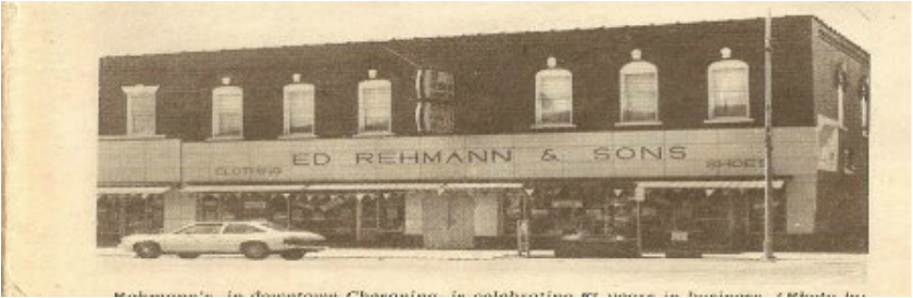 Ed Rehmann and Sons 1980s