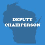 Tracy Thompson   trunice78@yahoo.com  608-957-9194  be available to server as chair during meetings if needed; chair of county fair booth ad-hoc committee (July event)