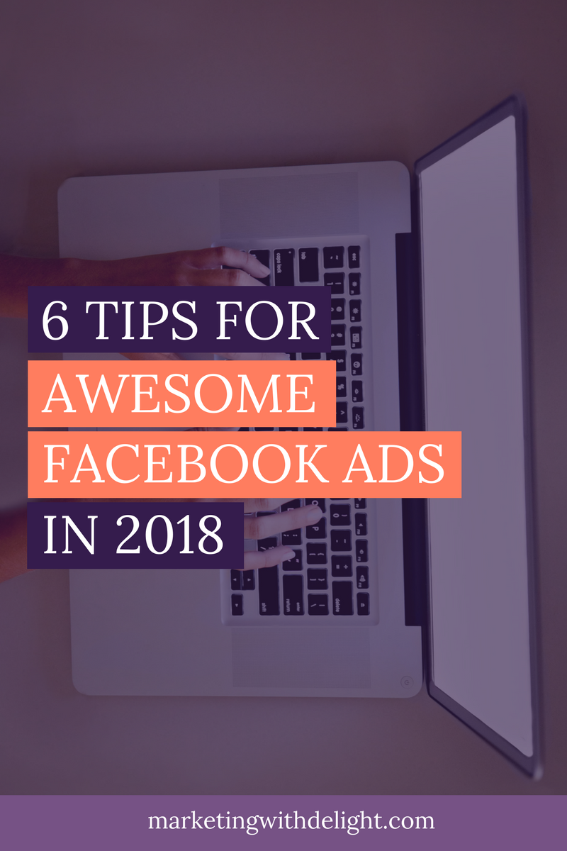 Learn to ROCK your Facebook ads in 2018! Facebook ads tips | Awesome Facebook ads | Facebook ads 2018 | Facebook marketing | Facebook for business | #facebookmarketing | #facebookmarketingtips | #facebookadstips