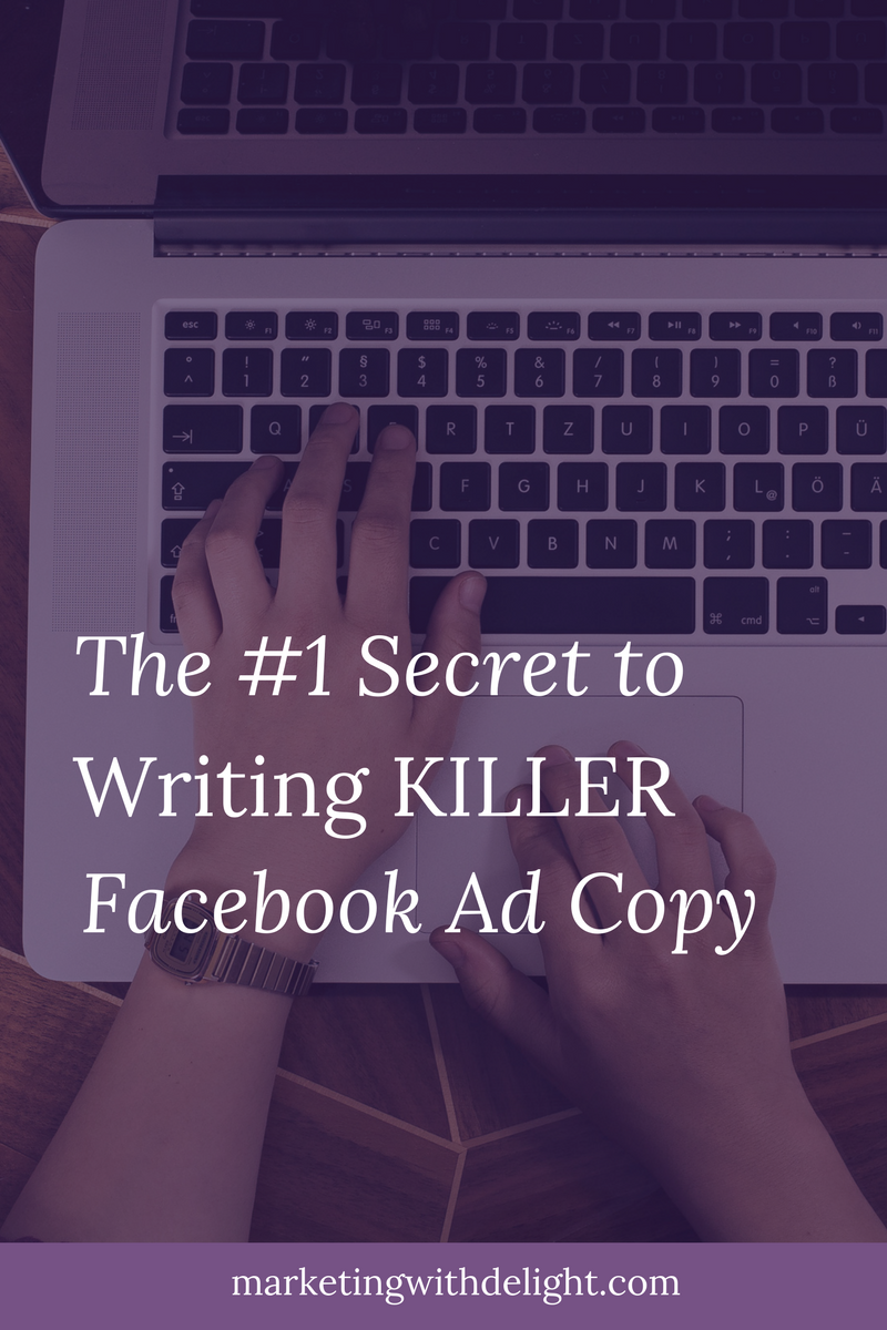 Stop your Facebook ad writing struggles with this secret! Facebook ads copy | Facebook ads tips | Facebook ads examples | Facebook marketing | Awesome Facebook ads | Content marketing | #facebookadscopy | #facebookadstips | #facebookmarketing | #facebookmarketingtips