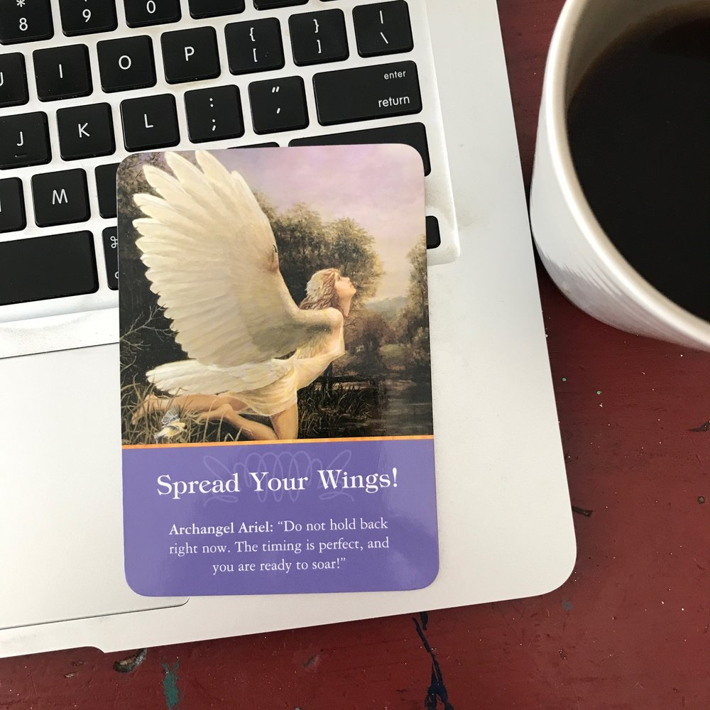 Marketing Angel Card