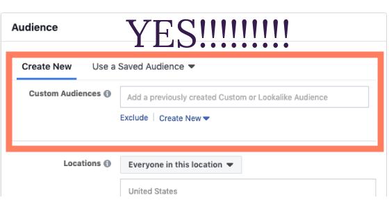 Facebook ads mistake 3