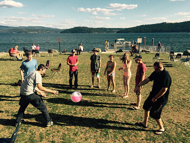Outdoor activities at Aero Camp - Coeur d'Alene, ID