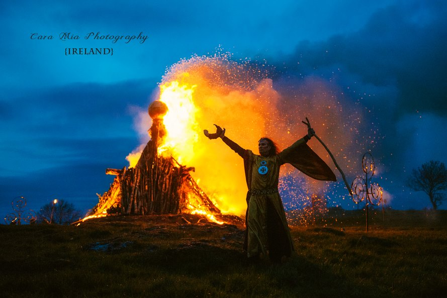Bealtane Fire Ceremony, Hill of Uisneach
