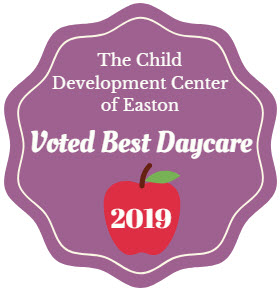 This year The Child Development Center of Easton was voted Best Daycare by Ray Price!!! Please read the article  here . Thank you for your support!