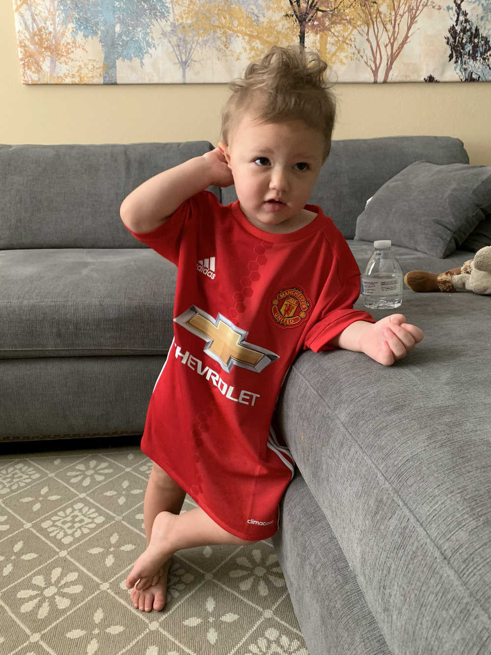 Galyna is also confused by recent Manchester United performances..