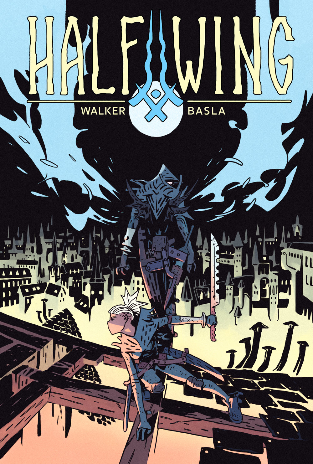 Halfwing, Issue 1, Cover