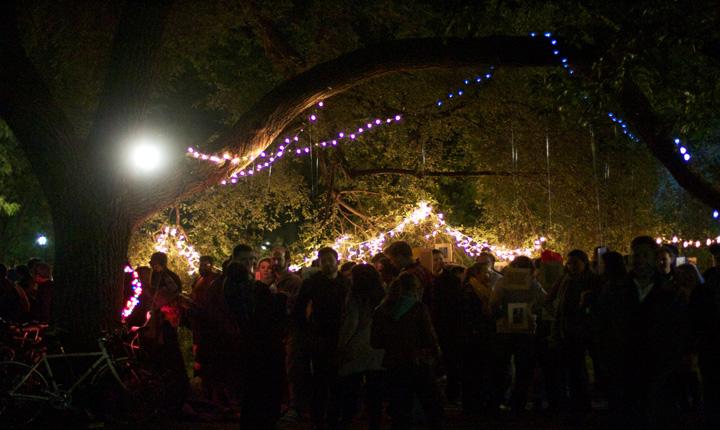 Nuit Blanche XOXO - Trinity Bellwoods Park, Toronto