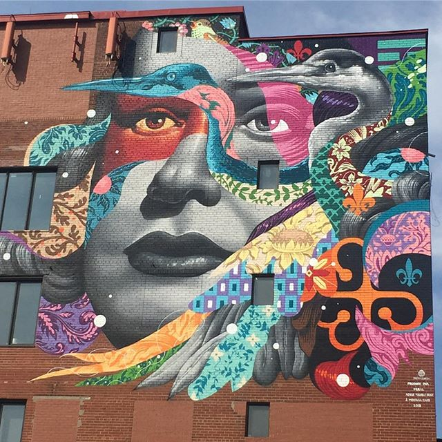 ✨Reminded of the magic of @tristaneaton in Montreal Canada 🇨🇦 made possible by the OGs @muralfestival #artinspo #montrealisawesome #daydreaming