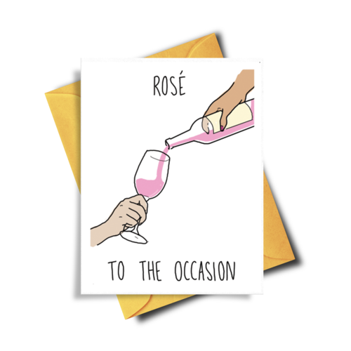 ROSE TO THE OCCASSION