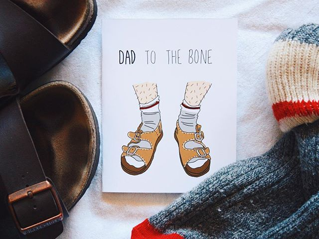 Father's Day is on June 17th. Now you know, don't forget. Buy a card.