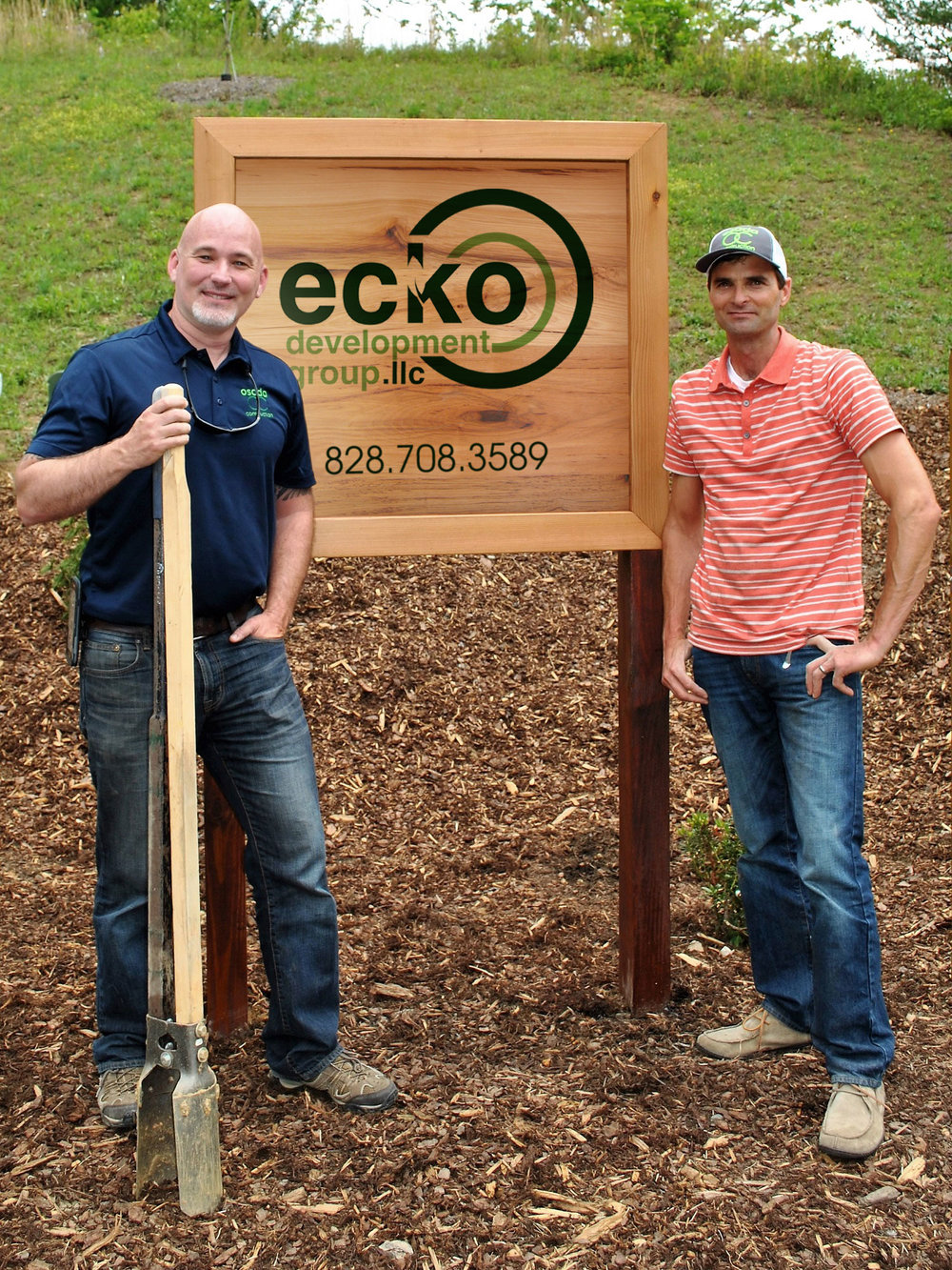 ABOVE:  Robi Eckley and Matt Osada