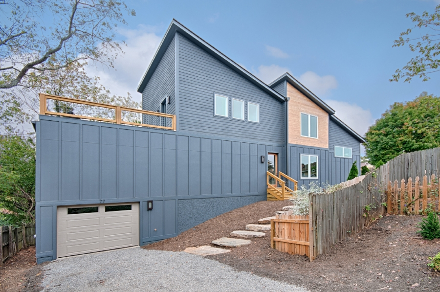 Osada Construction Greenbuilt Certified Home in West Asheville