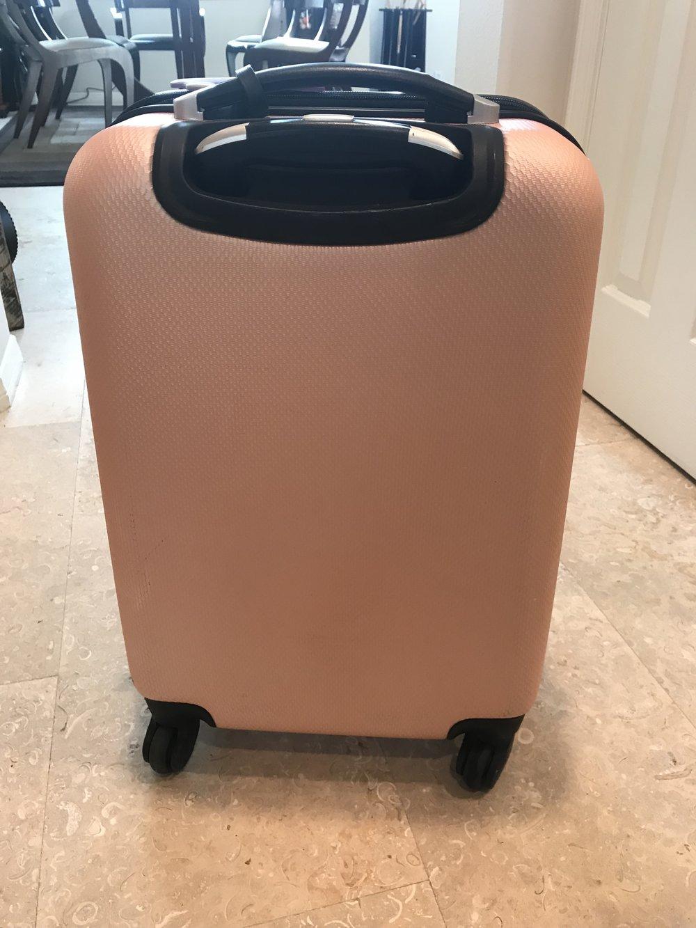 Luggage After - Magic Eraser!