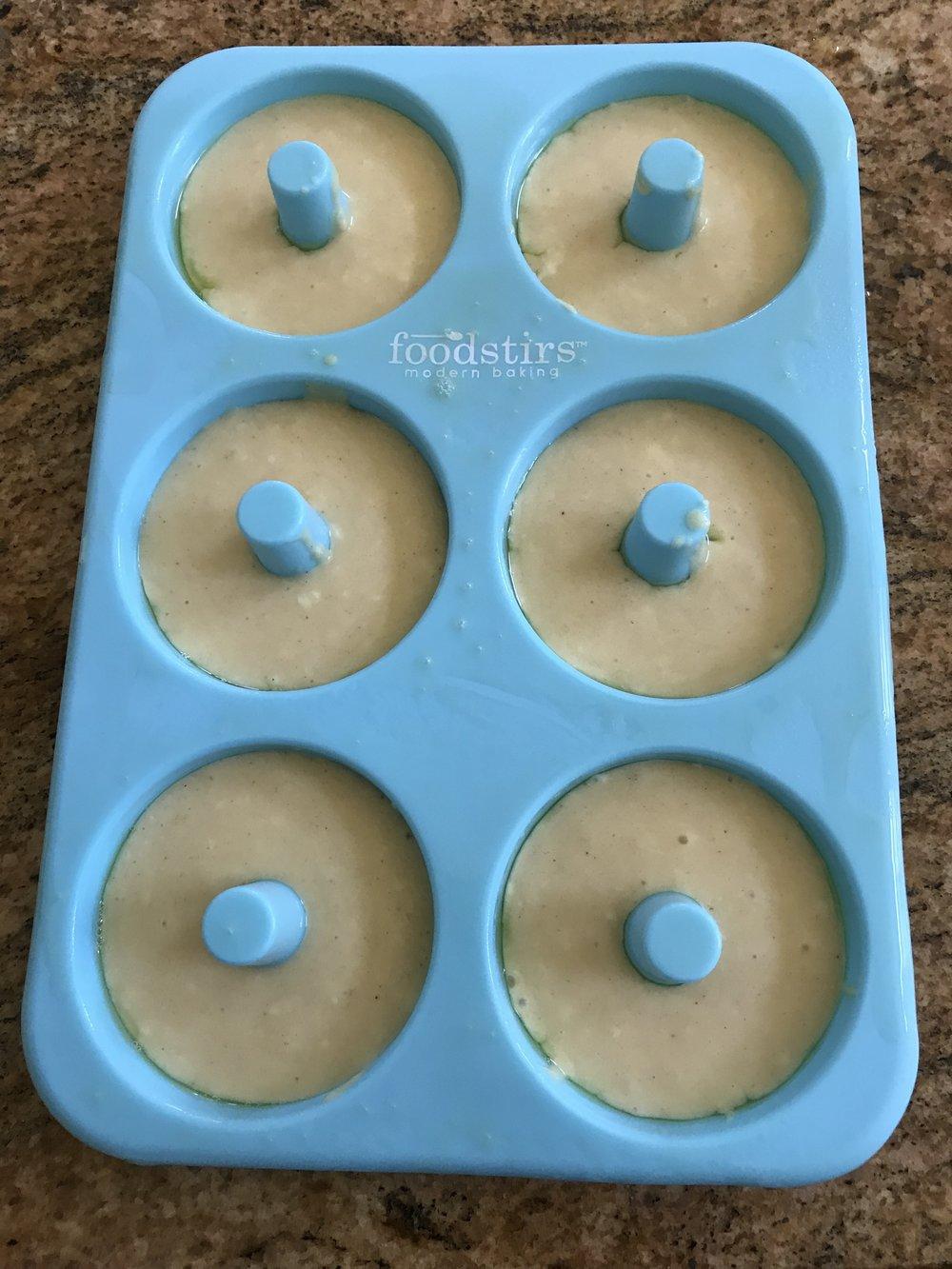 Batch 1 - raw dough 2 tbsp.