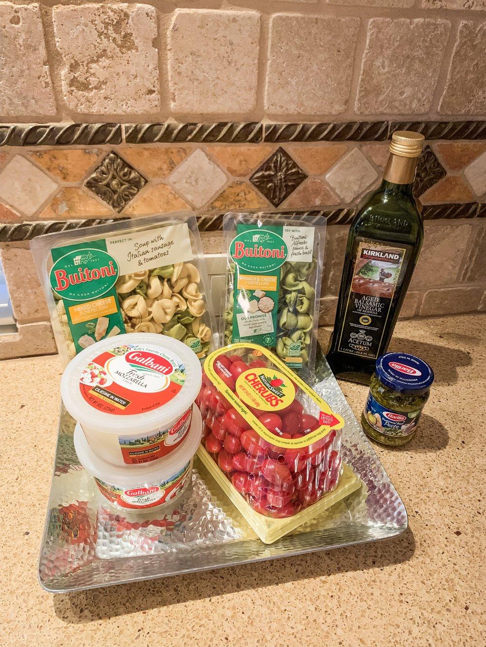 Ingredients - Plus olive oil, salt and pepper