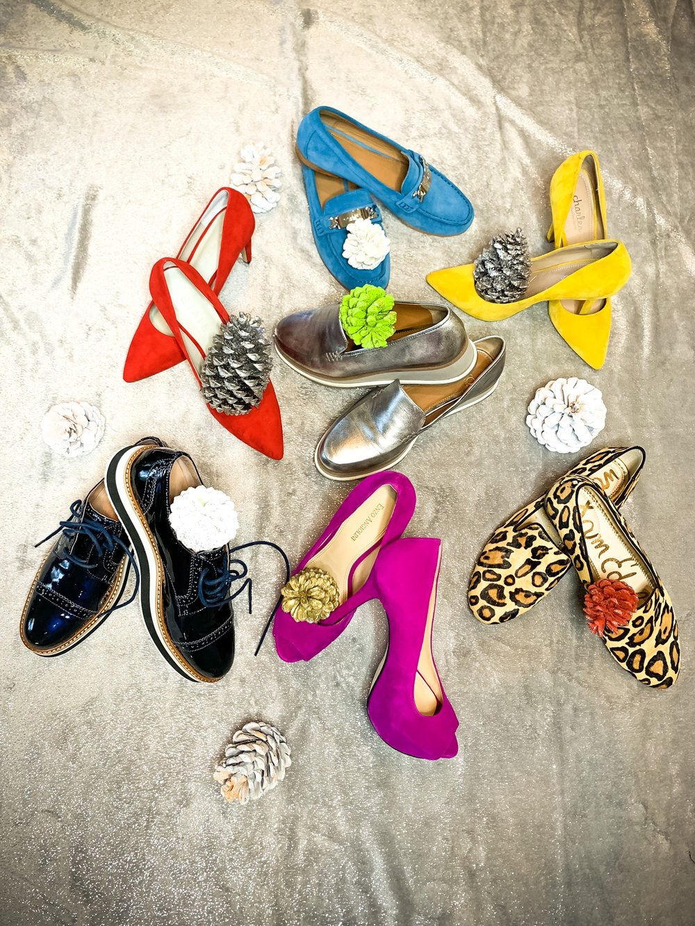 Here are my finds for shoes that pop -